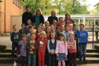 Abgangsjahr 2015 - Margit Knaack, Barbara Wuttke, Regine Schönfeld, Thomas Wagner
