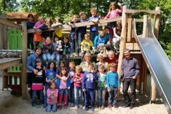 Abgangsjahr 2018 - Bärbel Breite, Gabi Groß-Roelofs, Oliver Schmehr, Bernd Loré