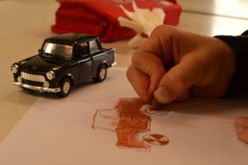 Zeichnen mit Rötel