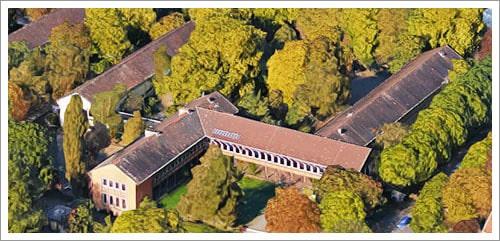 Luftaufnahme der GTGS Rastpfuhl