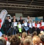 Erfolgreiche Teilnahme an den Schullaufmeisterschaften 2017