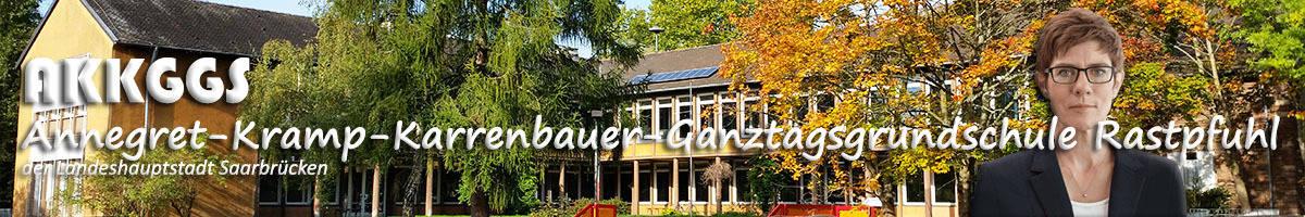 Druckvorlagenentwurf AKKGGS Rastpfuhl (Annegret-Kramp-Karrenbauer-Ganztagsgrundschule Rastpfuhl der Landeshauptstadt Saarbrücken)