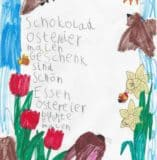 Osterelfchen der Klasse 1.2