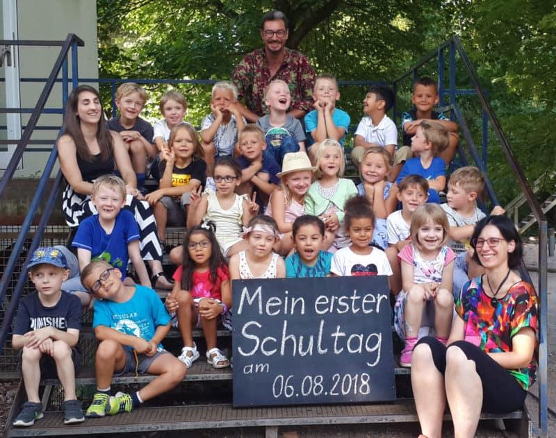 Klasse 1.1 - Schuljahr 2018/2019 - Aufnahmedatum: 07.08.2018